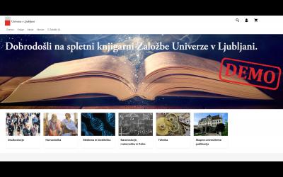 Spletna knjigarna ZUL – okno v svet Založbe Univerze v Ljubljani