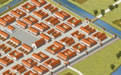 Mesto kot stroj: analiza prostorske skladnje Emone