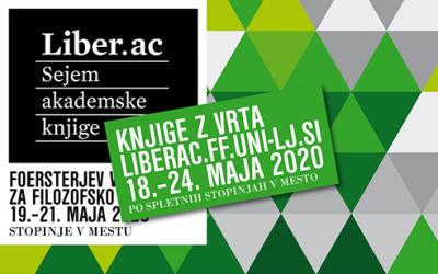 Po spletnih stopinjah v mesto, program sejma Liber.@c 2020